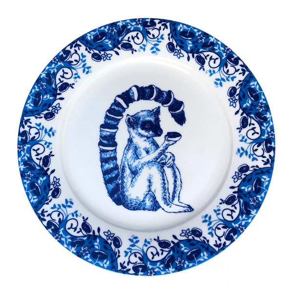 Lemur Willow pattern side plate