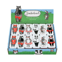 Mini Mint Slider Tins - Animals