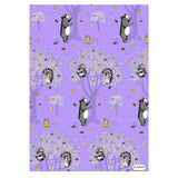 Doughnuts Grow on Trees Wrap - 5 Sheets of Wrapping Paper