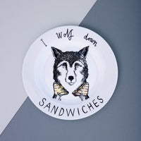 Wolf Sandwiches Side Plate