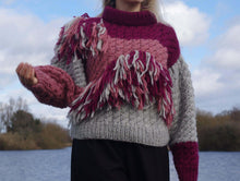 Load image into Gallery viewer, Oversized tassel jumper - Ev by Ieva Dickson
