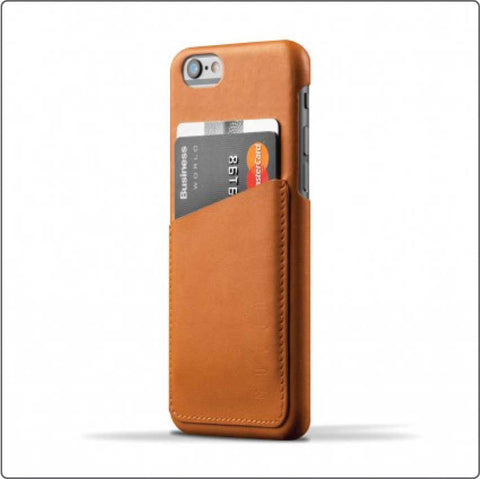 iPhone 6 Leather Wallet - Brun