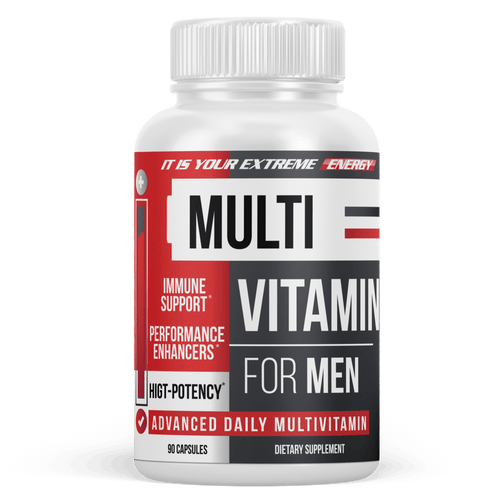 Men's Multivitamin - Daily Multimineral Multivitamin Supplement