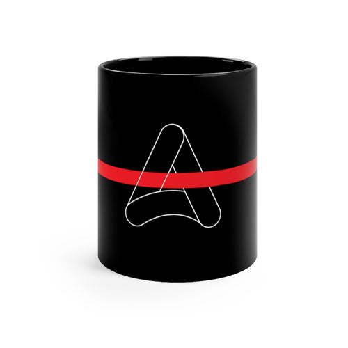 Acoola Black mug 11oz
