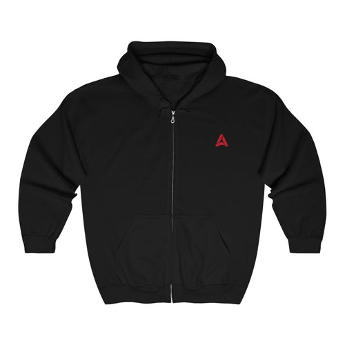 Acoola Unisex Full Zip Hooded Sweatshirt