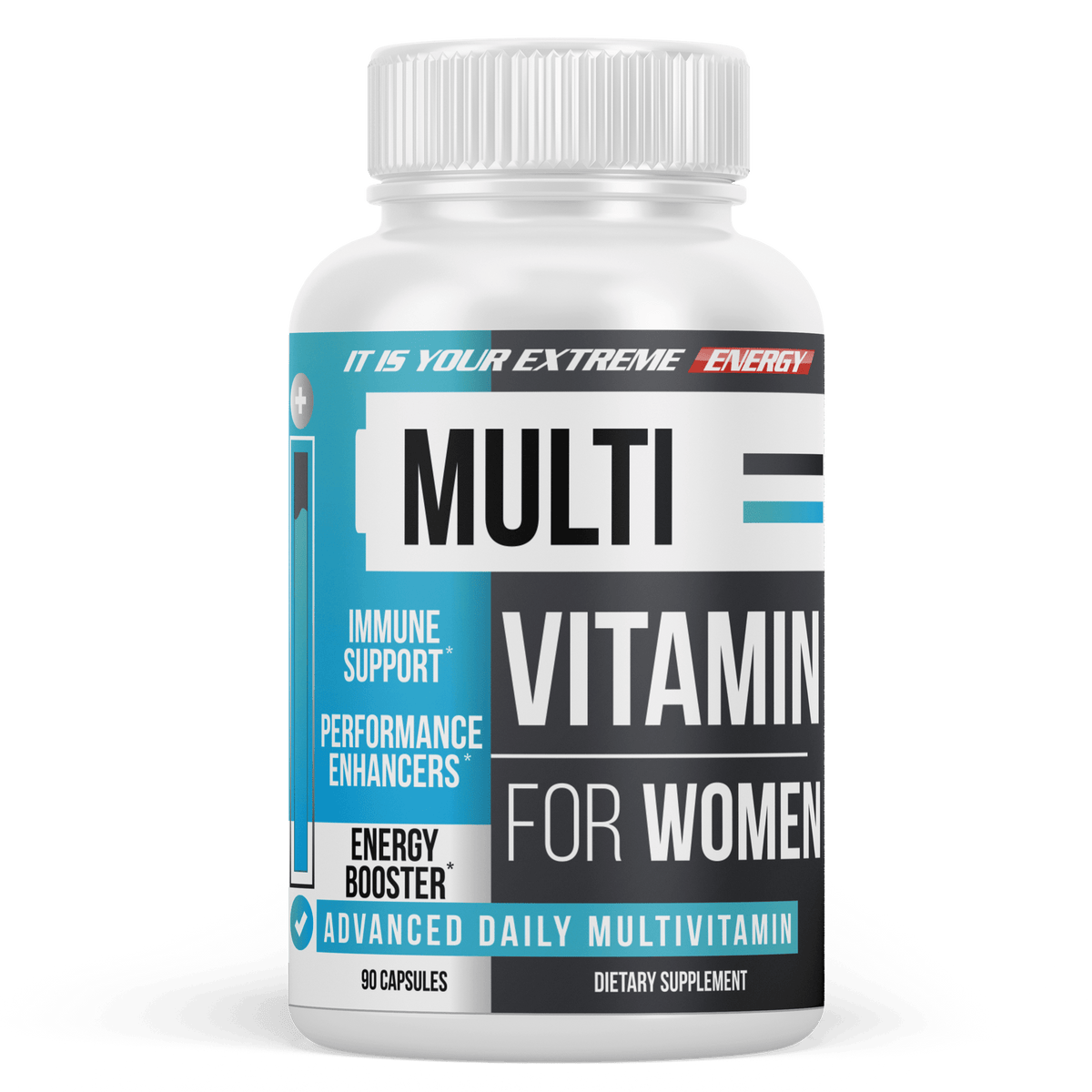 Womens Multivitamin - Daily Multimineral Multivitamin Supplement