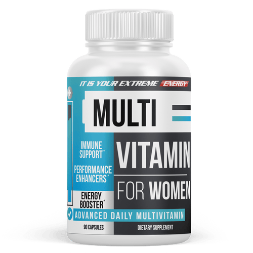 Women's Multivitamin - Daily Multimineral Multivitamin Supplement