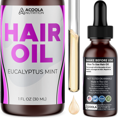 Hair Oil (Eucalyptus Mint)