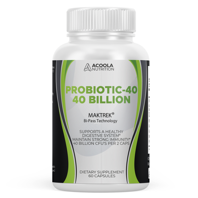 Probiotic 40 Billion