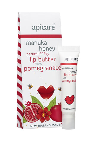 Apicare Pomegranate Lip Butter With SPF15 8g MP1