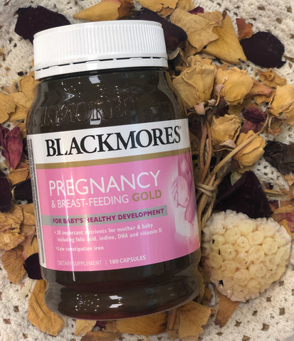 Blackmores Pregnancy & Breast-Feeding Gold 180 Capsules 9423601