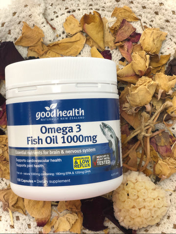 Goodhealth Omega 3 Fish Oil 1000mg 150 Capsules FBL10400