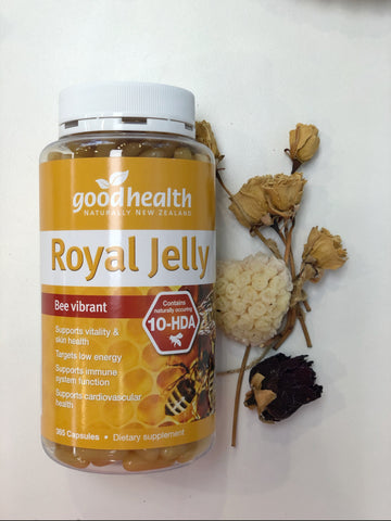 Goodhealth Royal Jelly 365 Capsules FCL10100