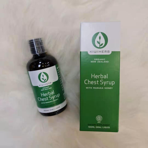 Kiwiherb Herbal Chest Syrup 100ml Oral Liquid NZK0041