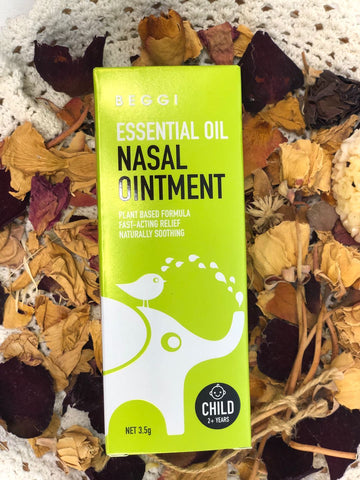 Beggi Essential Oil Nasal Ointment - Child 2+ Years 3.5g BEGGI01