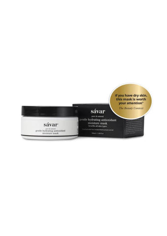 Savar Natural Hydrating Antioxidant Moisture Mask For All Skin Types & Sensitive Skin 100ml/Bonus Pack 777003/MBP757