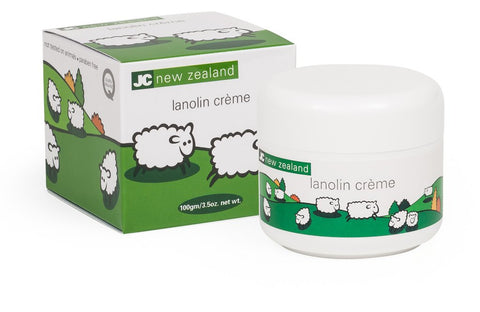 JC New Zealand Lanolin Face Creme 100g LC102