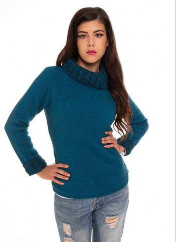 Koru Women's Two Tone Jumper KO471