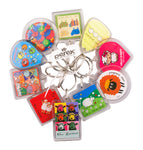 Derek Sheep 10 Pack Acrylic Keyrings KR507