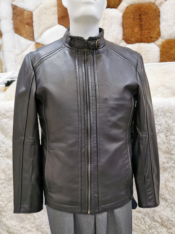 Knight of New Zealand Men's Leather Jacket-Cowan L7872-LN