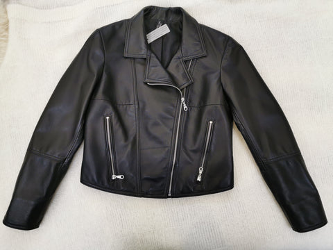 Knight of New Zealand Women's Leather Jacket-Janis L8037-LN