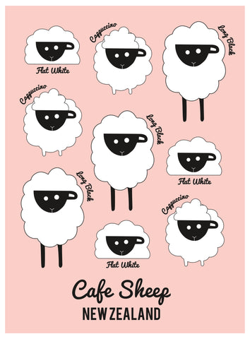 Derek Cafe Sheep A7 Mini Notebook MNB990