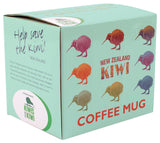 Derek Vintage Coloured Kiwi Coffee Mug MUG339
