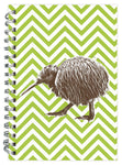Derek Chevron Kiwi_Spiral Notebook NB320