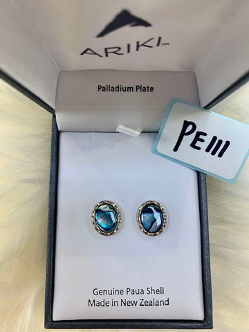 Ariki Large Oval Earrings PE111
