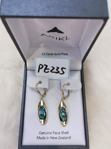 Ariki Ovoid Earrings PE235