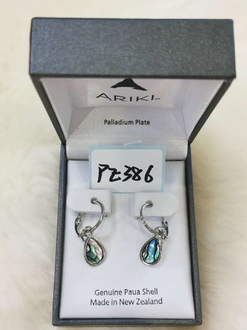 Ariki Teardrop Hoop Earrings PE386