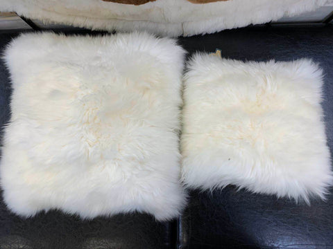 Mi Woollies Cushion Cover-Sheepskin R407/R408