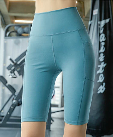 Airdry Yoga Pants Short With Pocket YOGAPANTS1