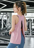 Airdry Yoga Top Sleeveless Open Back YOGATOP2