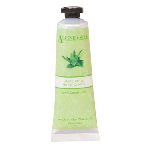 Alpine Silk Botanicals Aloe Vera Hand Creme with Cucumber 30ml AS200