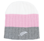 Hallifax Striped Beanie Grey/Pink/White CA1079