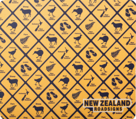 Hallifax Stationery Mouse Pad Roadsigns MM102