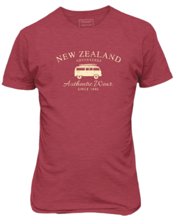 Hallifax Adult T-SHIRT NZ Adventures ATS148