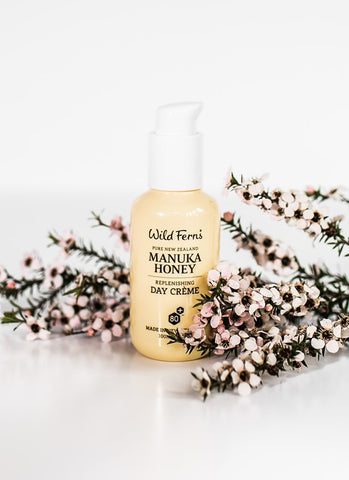 Wild Ferns Manuka Honey Replenishing Day Creme 100ml MNDC