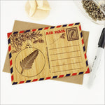 Crystal Ashley Bamboo Postcard: Fern Bauble PCBFN