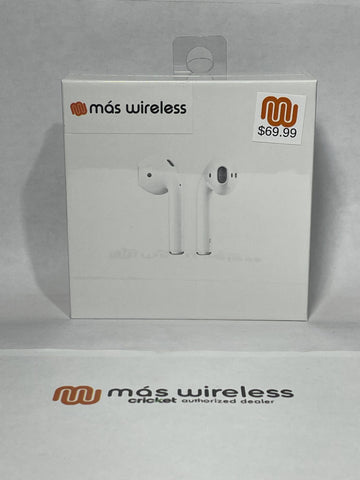 AIRPODS PROVIDED BY MAS WIRELESS