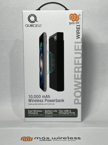 10K mAh WIRELESS POWER BANK