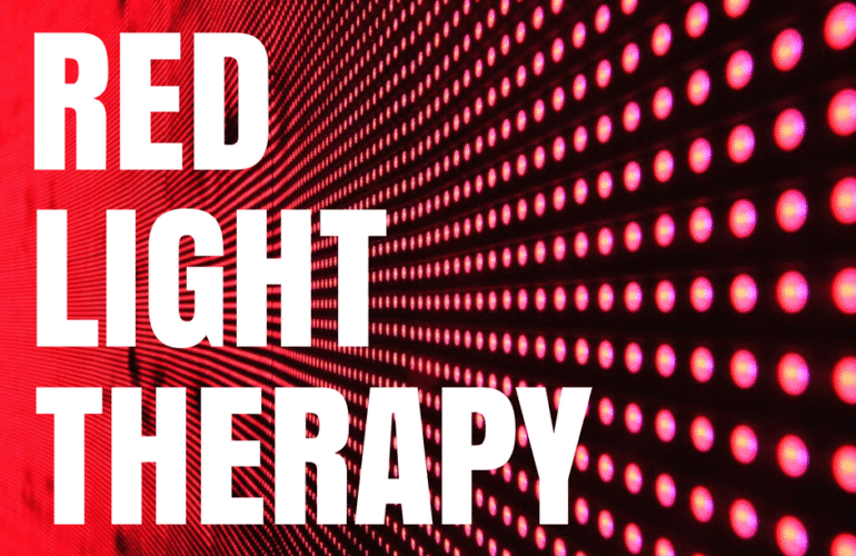 The Benefits of Red Light Therapy