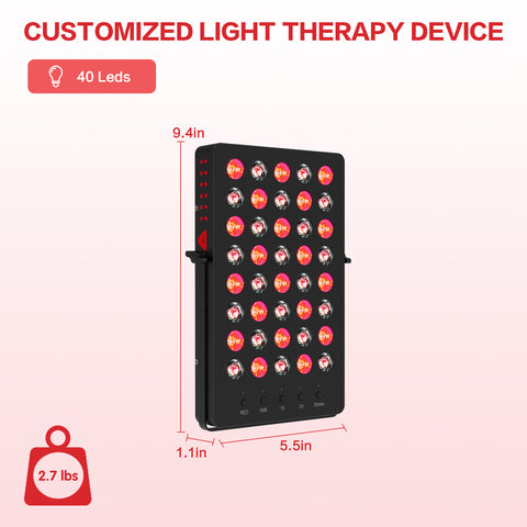 Portable Red Light Device X-40