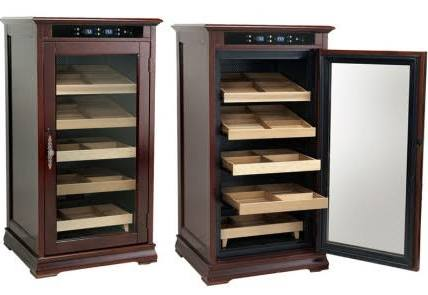 THE REDFORD 1250 Ct. Electric Climate/Humidity Controlled Cabinet