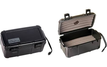 15 Cigar Caddy Plastic Travel Humidor