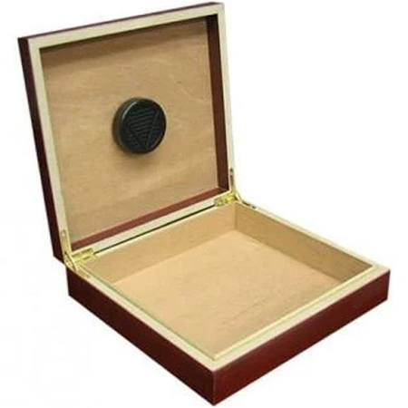 The Chateau 20 Count Cigar Humidor w/ Humidifier