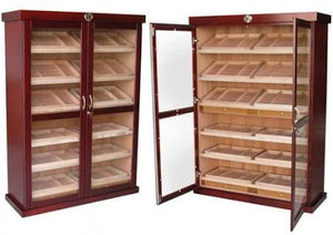 THE BERMUDA 4000 Count Cigar Cabinet Humidor