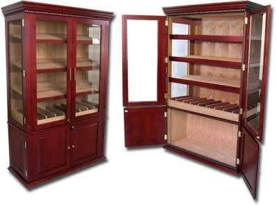 THE SAINT REGIS 4000 Count Cigar Cabinet Humidor