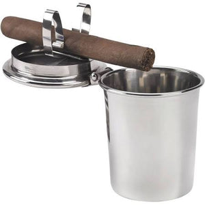 Stinky Car Ashtray - Polished Stainless Steel Design